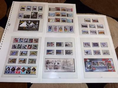 Isle Of Man-2007-Near Complete Years Commems Sets+3 Shts-Very Fine Used