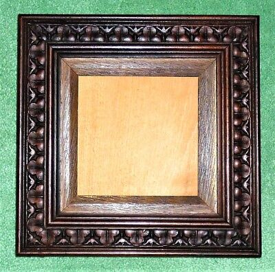 Antique C1900 Late Victorian/edwardian Art Nouveau Wooden Picture Frame