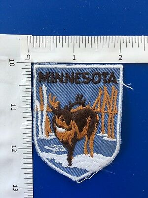 Vintage Minnesota Buck   Souvenir Patch