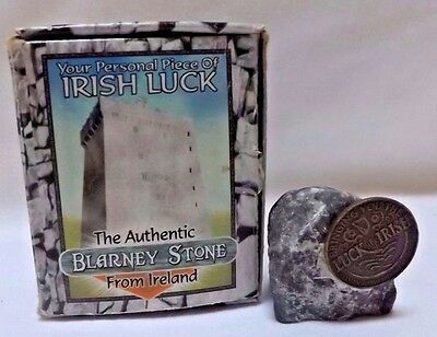 Authentic Blarney Stone from Ireland - Your Personal Piece of Irish Luck/OrigBox