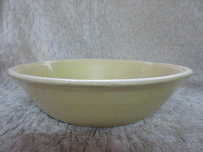 Antique Yellow Ware Yellowware Bowl Sharpes Warranted Fireproof