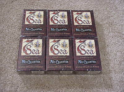 7th Sea No Quarter 6 starter decks - sealed