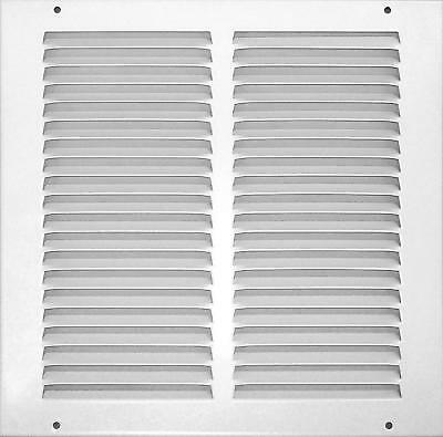OpenBox Accord ABRGWH1010 Return Grille with 1/2-Inch Fin Louvered, 10-Inch x 10