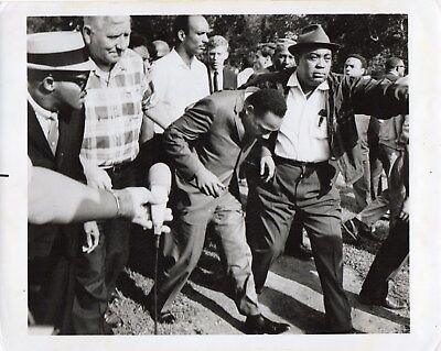 1960s Original  Photo MARTIN LUTHER KING American Civil Rights Leader Arrested