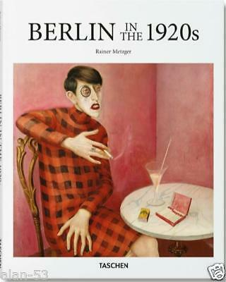 BERLIN IN THE 20's by Rainer Metzger TASCHEN ~ PROFUSELY ILLUS ~ BRAND NEW ~ HC