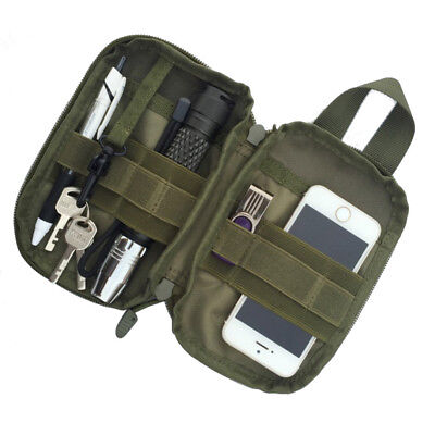 Hot!Outdoor Hiking Camping Mini Bag Army Military Tactical Pouch Case Holder 1pc
