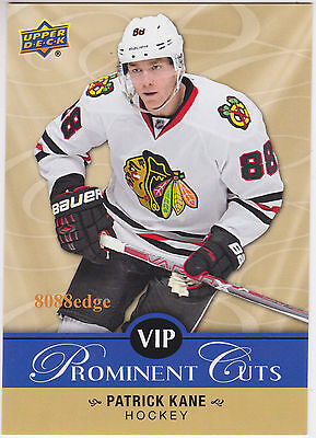 2017 Upper Deck National Prominent Cuts: Patrick Kane #vip-5 Nscc Show Exclusive