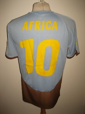 Africa Unity CAF football shirt #10 soccer jersey maillot trikot camiseta size M
