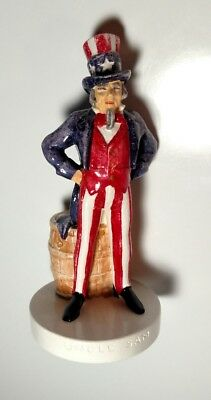 Vintage Sebastian Miniatures Uncle Sam #6206