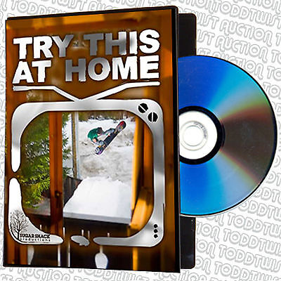 TRY THIS AT HOME  - Snowboard / Snowboarding DVD - SALE PRICE