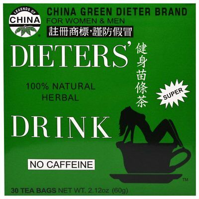 30x Uncle Lees Dieters Tea Bags Weight Loss Natural Herbal Green Slimming Drink