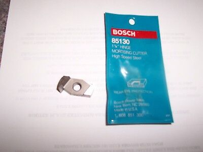 "Bosch 1-1/4"" Hinge Mortising Cutter 85130 Hss New Old Stock-Reduced"