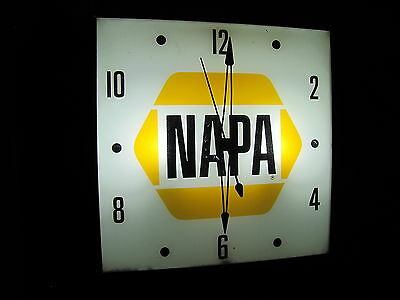 Pam...telechron...advertising Clocks (Led Bulbs), Texaco, Napa, Gulf,shell