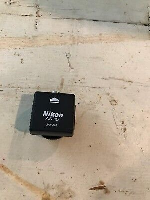 Nikon AS-15 flash connector EUC