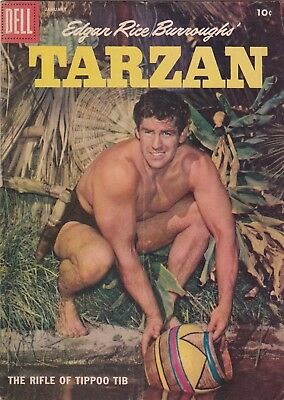 1958 Dell Edgar Rice Burroughs Tarzan Comic Book #100 BC