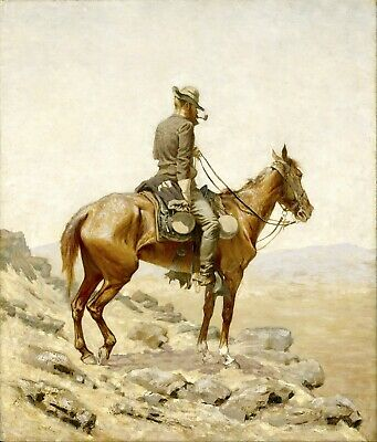 The Lookout by Frederic Remington Giclee Repro Canvas
