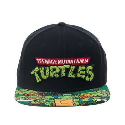 Con Licencia Oficial Teenage Mutant Ninja Turtles sublimado Bill Gorra Snapback