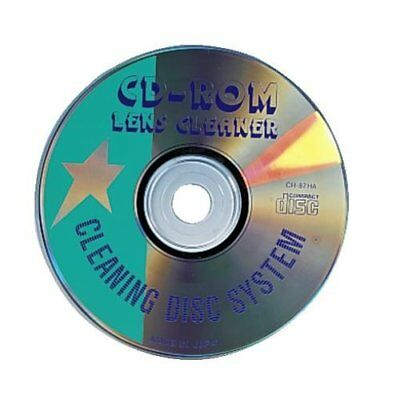 Hama CD-ROM Laser-Reinigungs-Disc Linsen Reinigungs-CD CD-Player DVD-ROM etc