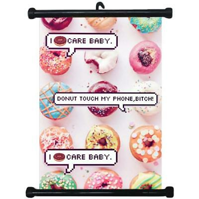sp217089 Donuts Wall Scroll Poster For Bakery Shop Decor Display