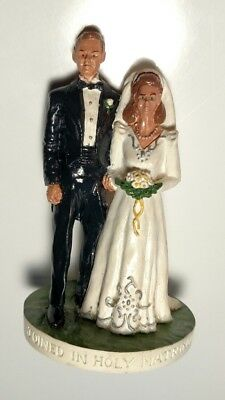 Vintage 1989 Sebastian Miniatures Joined In Holy Matrimony HUDSON