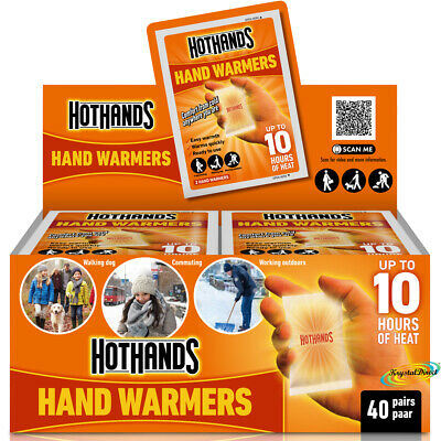 Hot Hands HotHands HAND WARMERS = 40 PAIRS