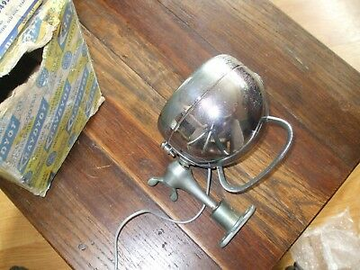 VINTAGE RAYDYOT SPOT LAMP HSU495 12v UNIVERSAL ADJUSTABLE original box