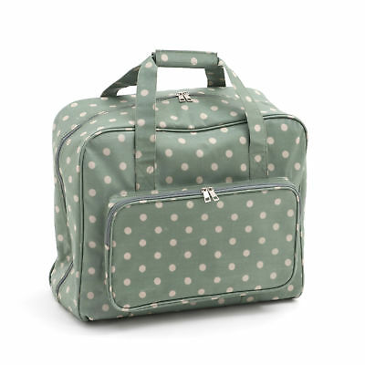 Sewing Machine Bag Storage Bag For Your Sewing Machine Moss Polka Dot
