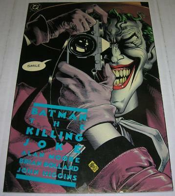 BATMAN THE KILLING JOKE 5th Print JOKER cripples Barbara Gordon (VF-) Alan Moore