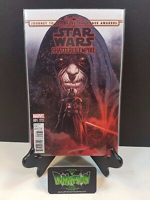 Star Wars Shattered Empire #1 Variant NM Marvel Comics Darth Vader Luke Leia