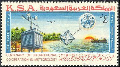 Saudi Arabia 1975 IMO/WMO/Meteorological Organization/Balloon/Ship/UN 1v n43556