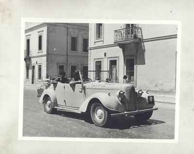 1943 ? Humber Military WWII Touring Car ORIGINAL Factory Photograph wy5102
