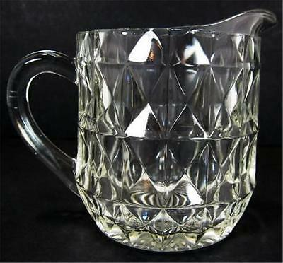 Jeannette Glass Windsor Clear 16 Oz Pitcher