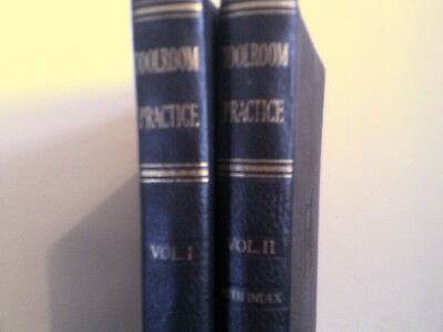 Toolroom Practice 2 Volume 1950    Milling Lathe Shaping Drilling Jigs Grinding