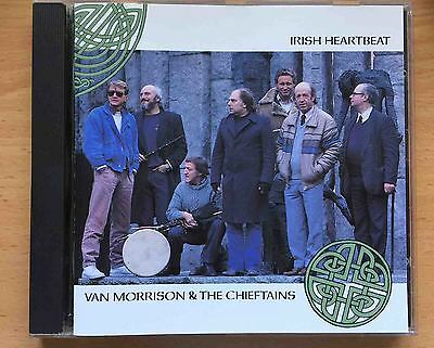 Van Morrison Irish Heartbeat CD The Chieftains 1st pressing