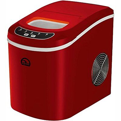 NEW Igloo 26 Pound Freestanding Ice Maker Model ICE102: Red