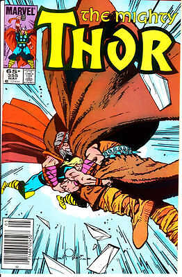 The Mighty Thor #355 & 356