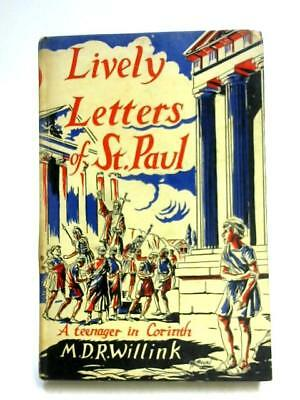 Lively Letters of St. Paul Book (Margaret Dorothea Rose Willink) (ID:90941)