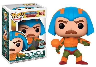 Funko - POP Television: Masters Of The Universe - Man at Arms Brand New In Box