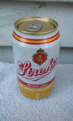 Stroh's Aluminum  Beer Can Cans  T G
