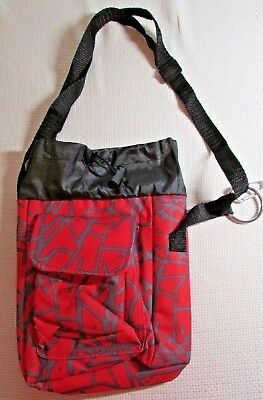 New Insulated Red Lunch Food Carrier Bag With Straps By AARP