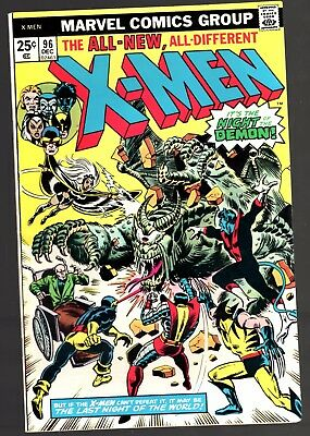 Marvel X-MEN #96 1st APPEARANCE OF MOIRA MCTAGGERT VIEW SCANS FOR CONDITION