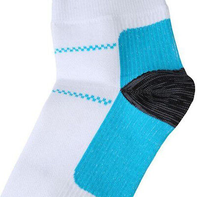 Mens Womens Compression Sports Socks Pain Relieving Plantar Fasciitis Heel Arch