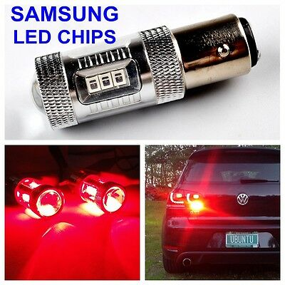 30W 380 P21/5W 1157 BAY15d LED Rouge AMPOULE SAMSUNG SYSTEME CANBUS ANTI ERREUR