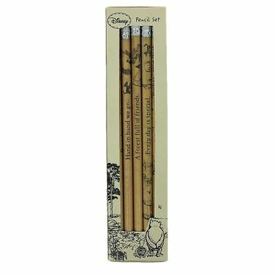 Official Licensed Disney Classic Winnie the Pooh Set of 5 Pencils