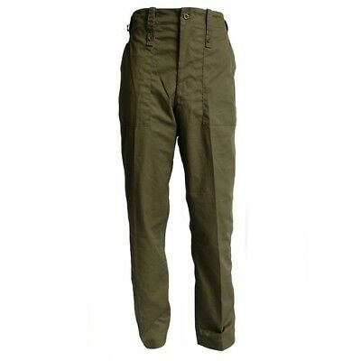 British Army Surplus Lightweight Trousers Olive Green