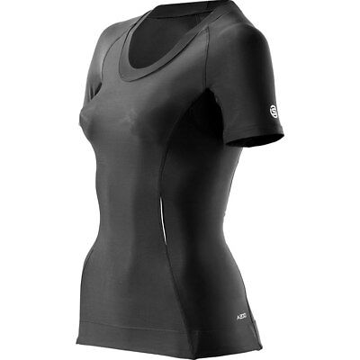 Skins A200 Women's Compression Short-sleeve Top Black XS