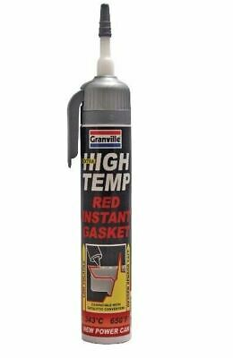 Granville High Temprature Instant Gasket Red (up to 650°F) Powercan 200ml 0456
