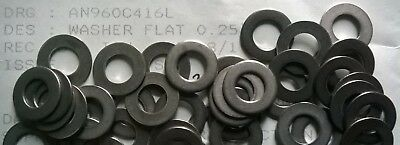 """AN960C416L Stainless Steel Aircraft Washers 0.25"""""""