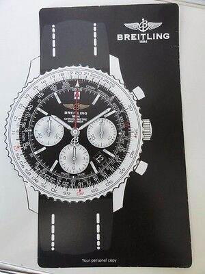 Breitling promotional Navitimer board for Limited Edition of Swiss Boeing 777