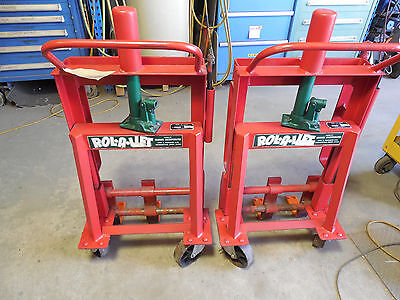 Rol-A-Lift MOVING DOLLIES ROLALIFT M-4 4000 LBS. PAIR RIGGING TOOL HEAVY DUTY